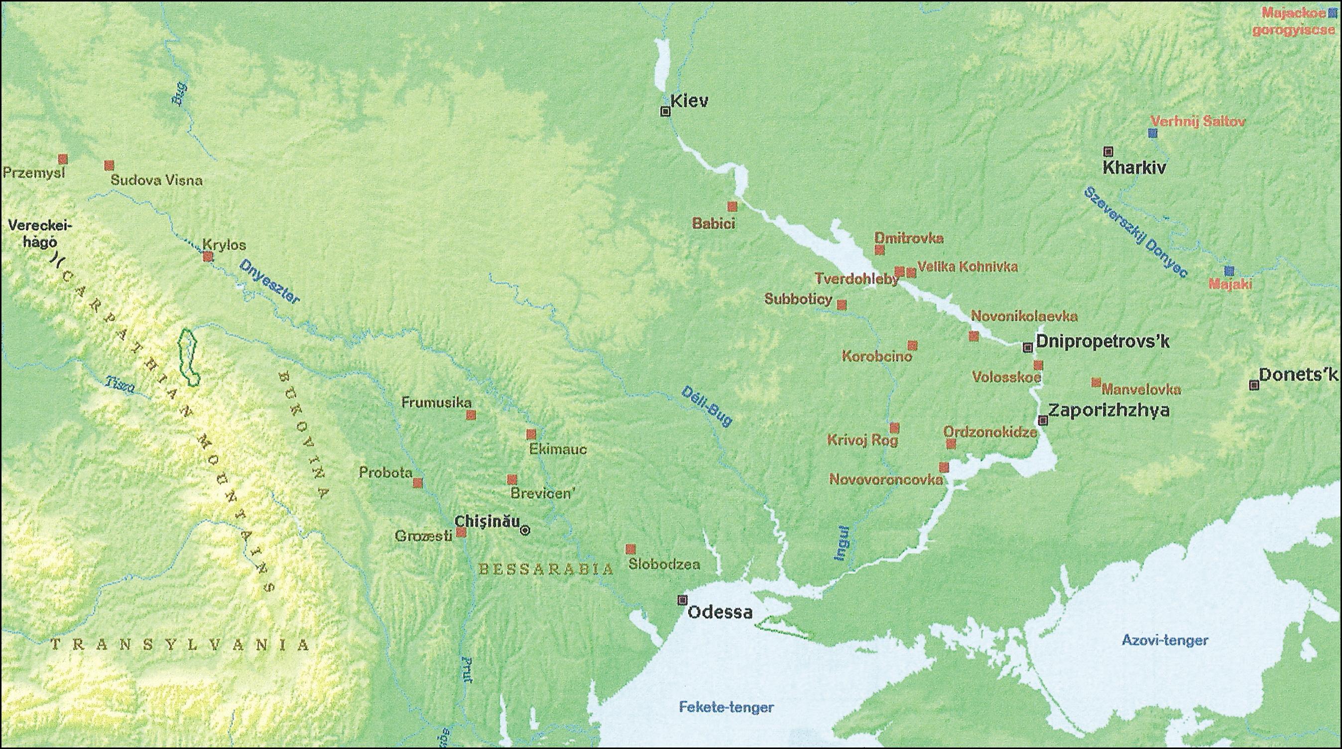 etelköz térkép Nyelv és Tudomány  Rénhírek   Ősmagyarok a Dnyeper partján