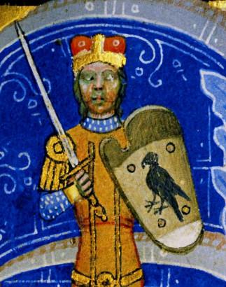 Árpád vezér a Képes Krónikában