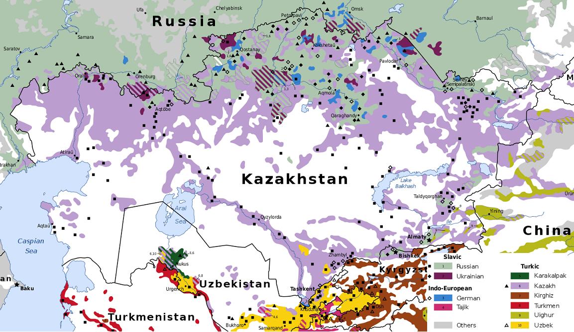 kazahsztán térkép Nyelv és Tudomány  Főoldal   Lassan megtanulják saját nyelvüket kazahsztán térkép