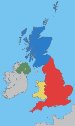 Ír Egyesült Királyságban